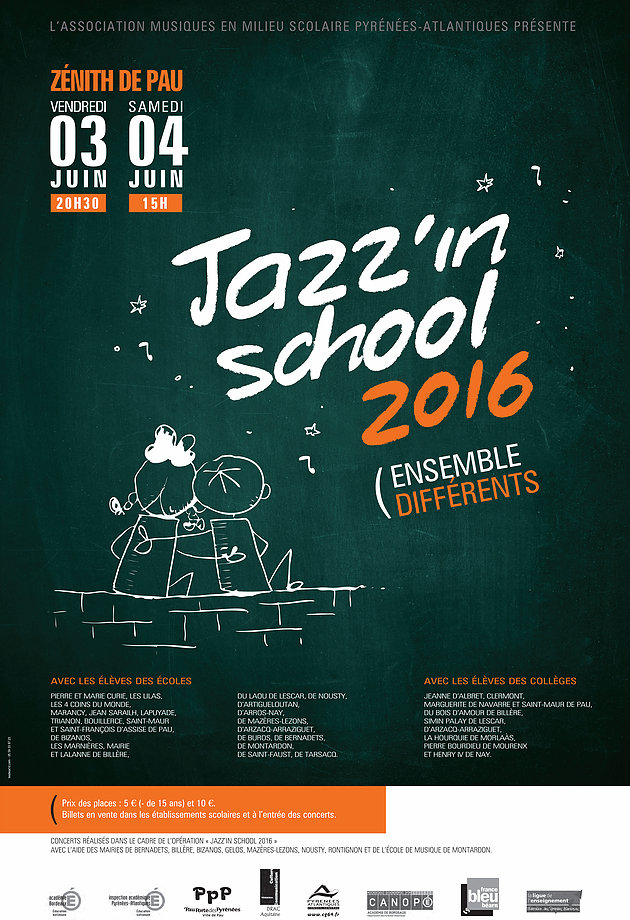 Jazz'in School 2016 – Ensemble Différents